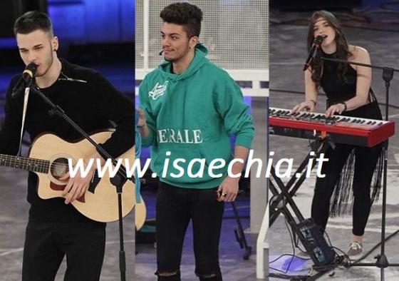 Nick Zaramella, Lele Esposito e Chiara Grispo