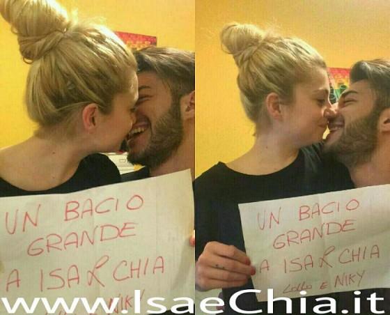Nicole Biondi e Lorenzo Riccardi