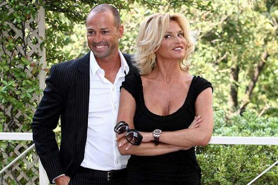 Simona Ventura e Stefano Bettarini