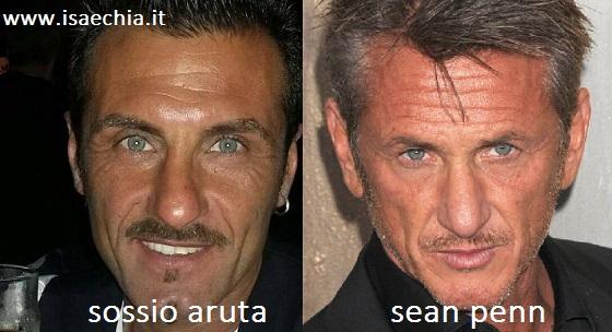 Somiglianza tra Sossio Aruta e Sean Penn