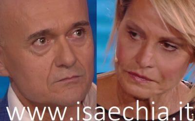 Alfonso Signorini e Simona Ventura