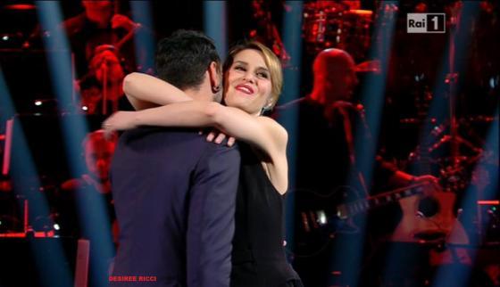 Marco Mengoni e Paola Cortellesi