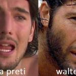Somiglianza tra Andrea Preti e Walter Nudo