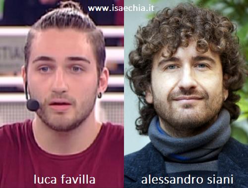 Somiglianza tra Luca Favilla e Alessandro Siani