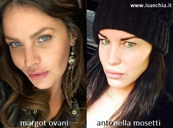 Somiglianza tra Margot Ovani e Antonella Mosetti