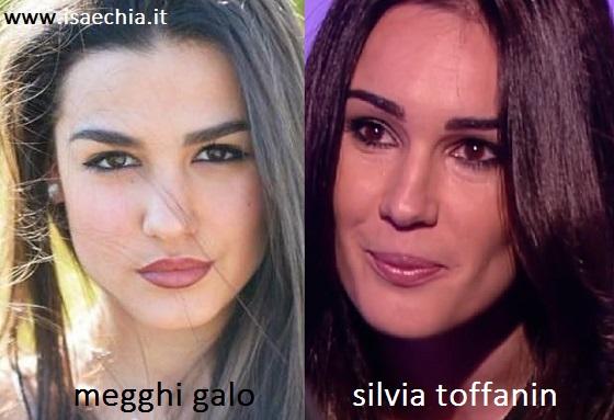 Somiglianza tra Megghi Galo e Silvia Toffanin
