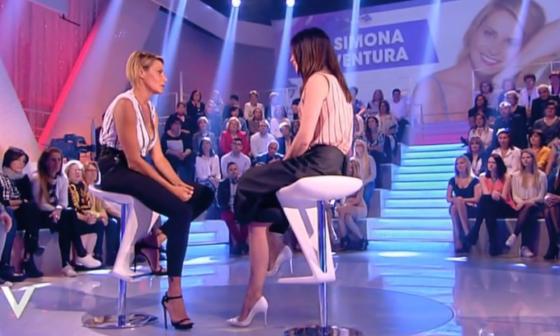 Verissimo - Simona Ventura e Silvia Toffanin