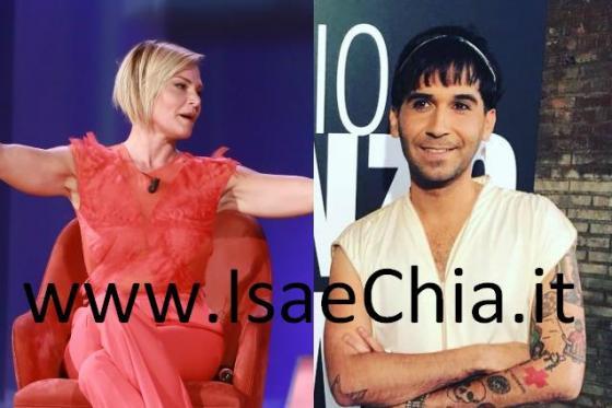 Bosco Cobos e Simona Ventura