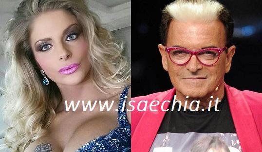 Cristiano Malgioglio e Francesca Cipriani