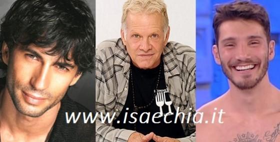 Garrison Rochelle, Kledi Kadiu e Stefano De Martino