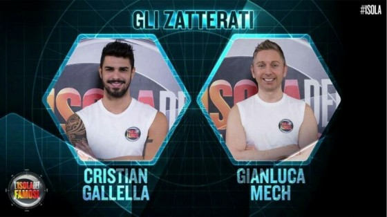Gianluca Mech e Cristian Gallella
