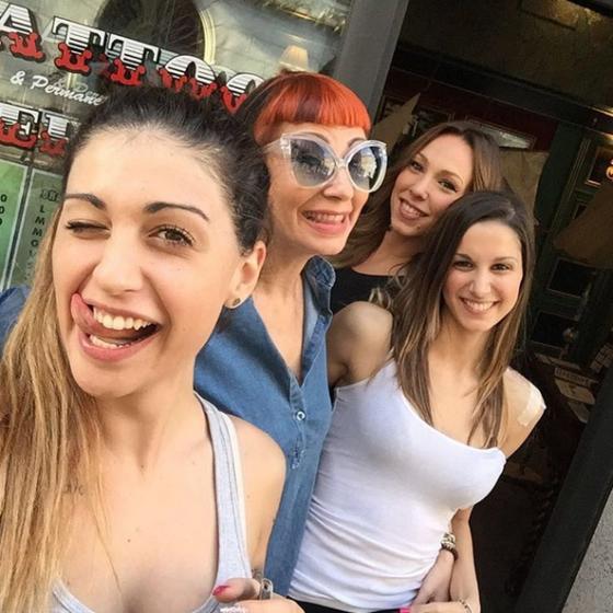 Laura Frenna e Cecilia Zagarrigo