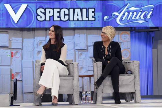 Maria De Filippi e Silvia Toffanin