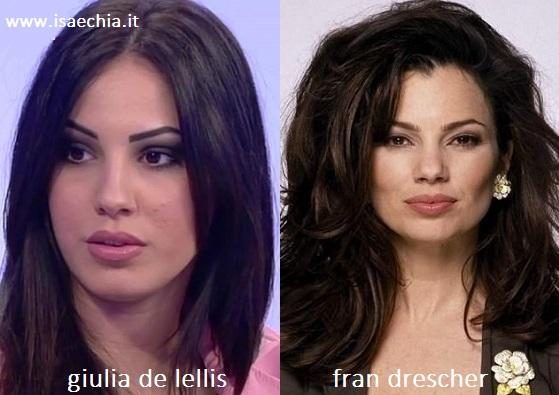 Somiglianza tra Giulia De Lellis e Fran Drescher de 'La Tata'