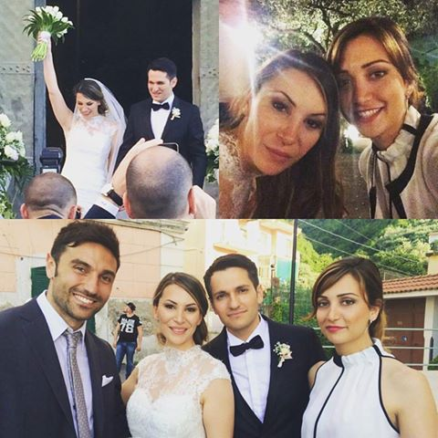 Sonia Carbone, Gabriele Caiazzo, Debora Onorato ed Emanuele Cirilli