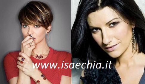 Alessandra Amoroso e Laura Pausini