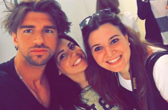 Andrea Damante, Giulia De Lellis e Martina Olivieri