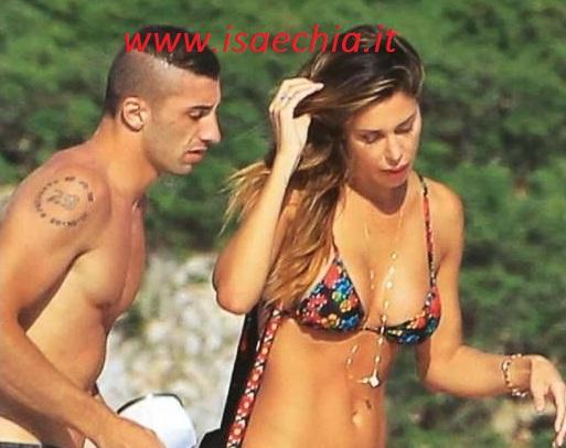 Belén Rodriguez e Andrea Iannone