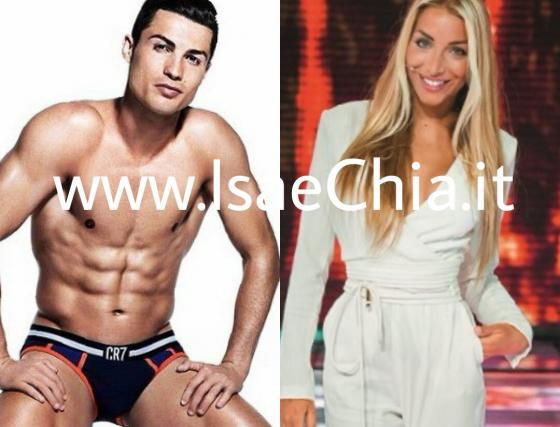 Elisa De Panicis e Cristiano Ronaldo