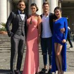 Gianmarco Valenza, Dario Loda, Claudia Merli e Alessia Messina