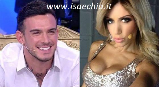 Lucas Peracchi e Paola Caruso
