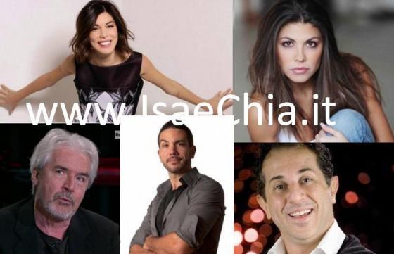 Bianca Atzei, Flora Canto, Antonio Mezzancella, Tullio Solenghi e Manlio Dovì
