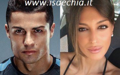 Cristiano Ronaldo e Cristina Buccino
