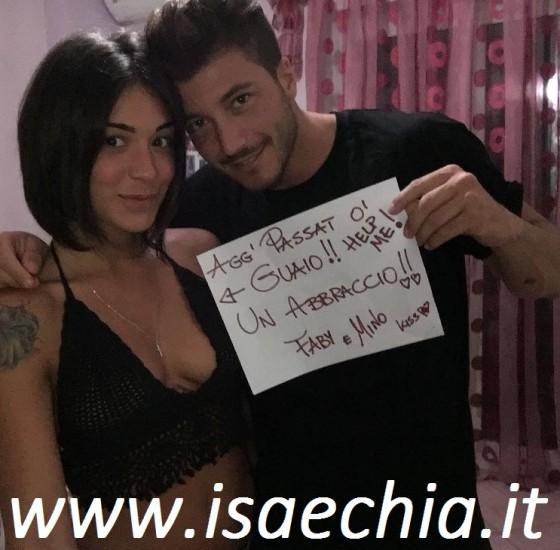 Fabiola Cimminella e Mino Tafuri
