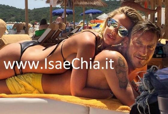 Ilary Blasi e Francesco Totti