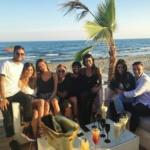 Lorenzo Insigne, Ciro Immobile, Matteo Darmian, Simone Zaza e Chiara Biasi