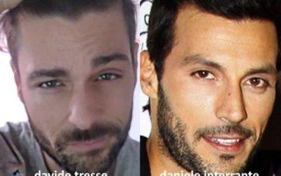 Somiglianza tra Davide Tresse e Daniele Interrante
