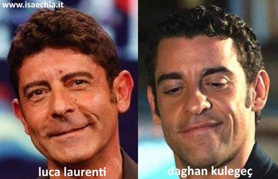 Somiglianza tra Luca Laurenti e Daghan Kulegec