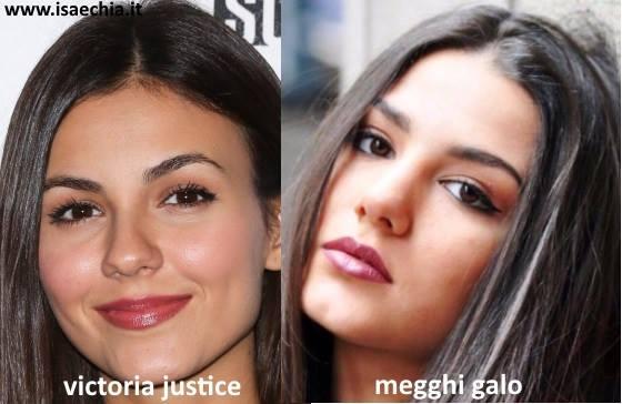 Somiglianza tra Megghi Galo e Victoria Justice