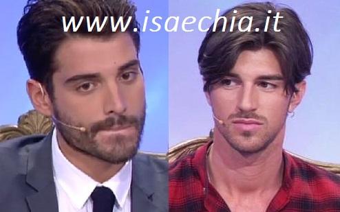 Amedeo Barbato e Andrea Damante