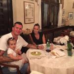 Andrea Busatta, Valentina Borso e la piccola Allegra