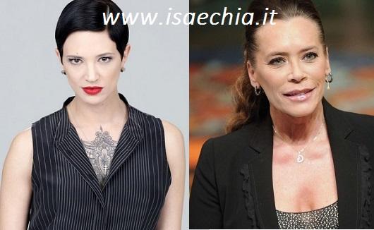 Asia Argento e Barbara De Rossi