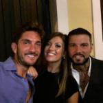 Ernesto Carnevale, Flavio Zerella e Roberta Mercurio