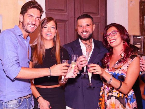 Ernesto Carnevale, Gabriella Teodosio, Flavio Zerella e Roberta Mercurio