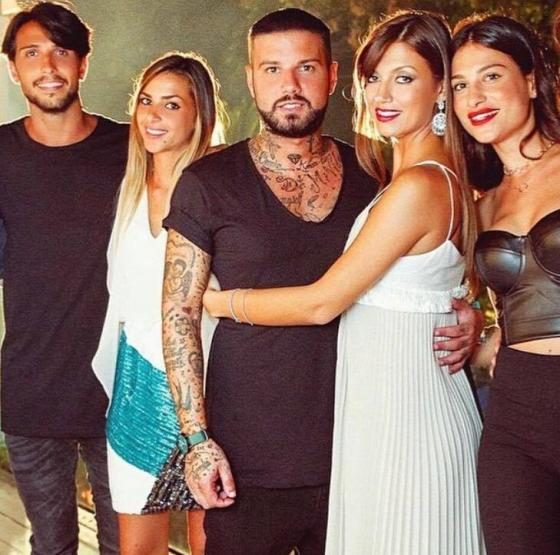 Fabio Ferrara, Valeria Vassallo, Flavio Zerella, Roberta Mercurio e Ludovica Valli