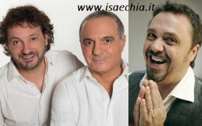 Leonardo Pieraccioni, Giorgio Panariello e Gabriele Cirilli