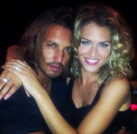 Marcelo Fuentes e Sofia Bruscoli