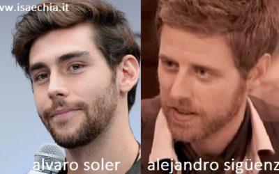 Somiglianza tra Alvaro Soler e Alejandro Siguenza