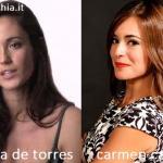 Somiglianza tra Gracia De Torres e Carmen Canivell