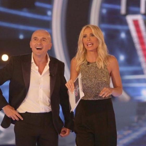 Alfonso Signorini e Ilary Blasi