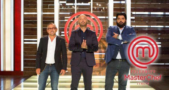 Celebrity Masterchef - Antonino Cannavacciuolo, Joe Bastianich e Bruno Barbieri