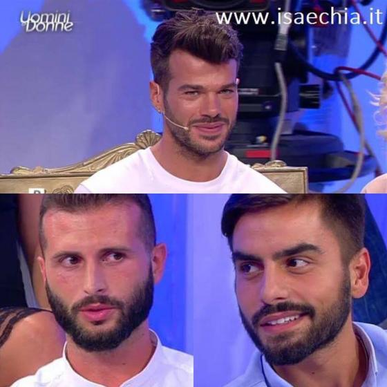 Claudio Sona, Francesco Zecchini e Mario Serpa