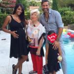 Juliana Moreira, Edoardo Stoppa e Lua Sophie