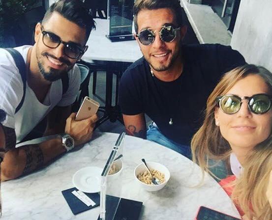 Marco Carta, Cristian Gallella e Tara Gabrieletto