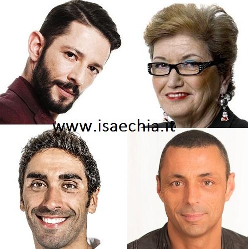 Nesli, Mara Maionchi, Filippo Magnini e Alex Britti