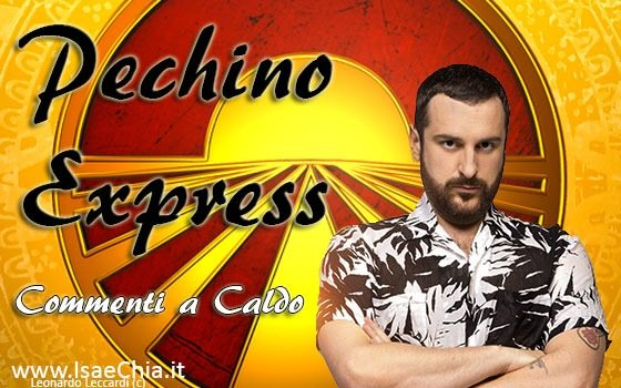 'Pechino Express': commenti a caldo